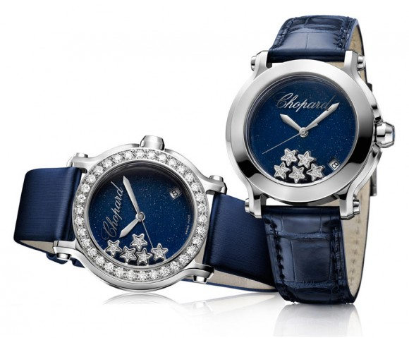 """Звёздный"" Chopard Happy Sport"