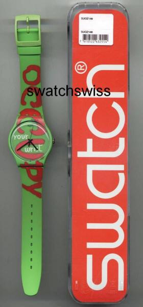"""Occupy Your Wrist!"" от Swatch"