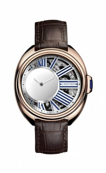 Компания Cartier представила часы Cle de Cartier Mysterious Hour