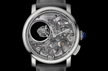 Cartier представляет часы Rotonde de Cartier Minute Repetear Mysterious Double Tourbillon