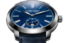 Ulysse Nardin представляет часы Classico Manufacture Blue Grand Feu