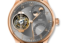 Компания IWC представляет часы Portugieser Constant-Force Tourbillon Double Moon