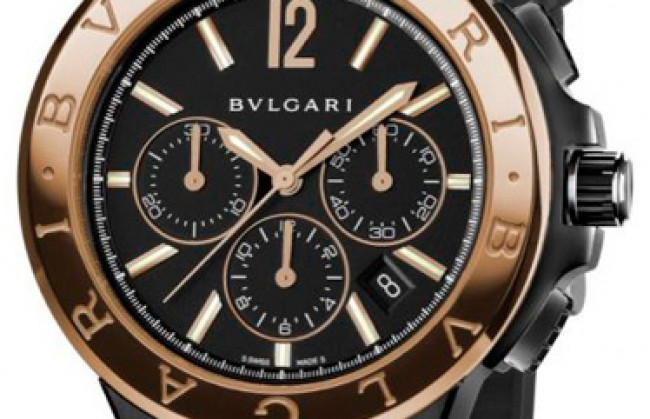 ���������� ������� ���� Diagono Ultranero �� ����������� �������� Bvlgari