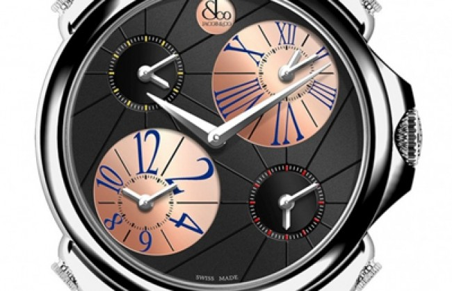 Jacob & Co ������������ ����� ������ ����� �� ��������� Palatial Five Time Zone