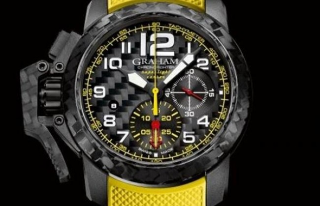 ������ ���� � ���������� ������� �� ������� Graham Chronofighter ������������ �������