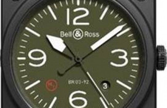 ����������� �������� Bell & Ross ��������� ���� BR 03 Military type � ������� �����.
