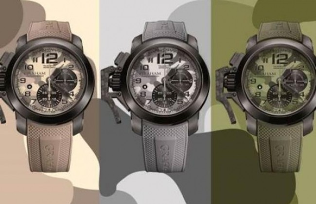 Компания Graham представляет часы Chronofighter Oversize Black Arrow