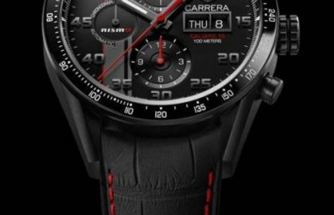 TAG Heuer представляет часы Carrera Nismo Calibre 16 for Le Mans