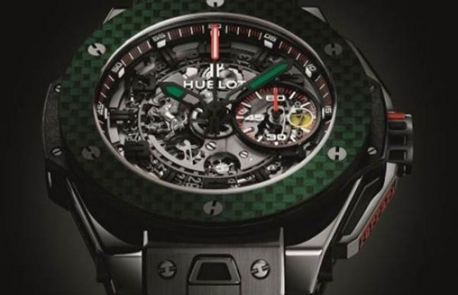 Часы The Big Bang Ferrari Mexico Limited Edition представляет Hublot