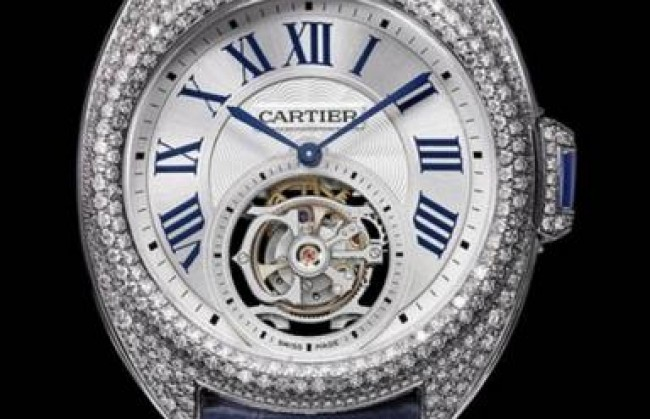 �������� Cartier ����������� ������� ���� Cle de Cartier Flying Tourbillon