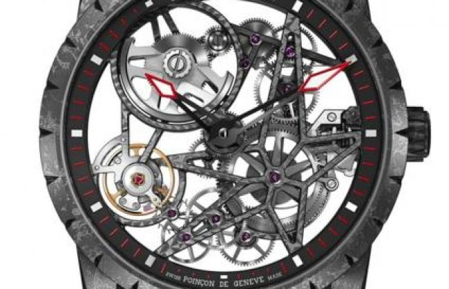 Roger Dubuis �������� �� SIHH-2016 ���� Excalibur Automatic Skeleton Carbon