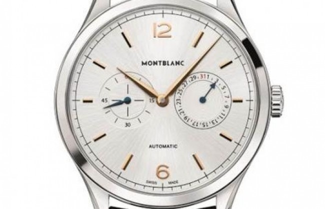 Montblanc ������������ ���� Heritage Chronometrie Twincounter Date