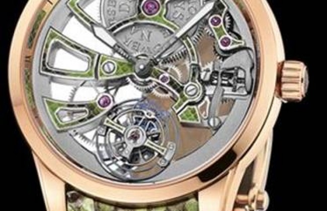 Ulysse Nardin ������������ ���������� ���� Royal Python Skeleton Tourbillon Manufacture
