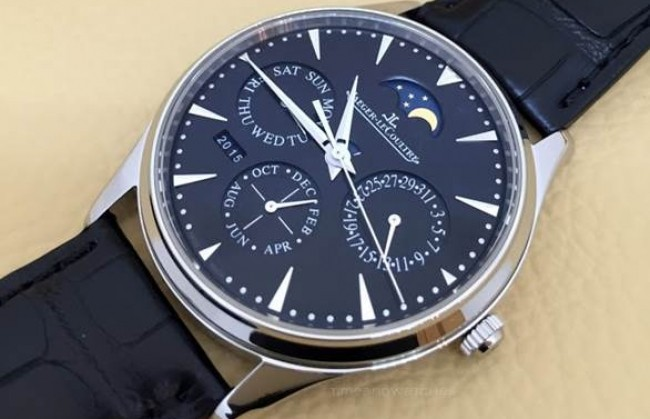 ����� ���� Master Ultra Thin Perpetual Black Dial ������������ Jaeger-LeCoultre