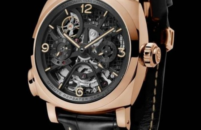 Новые часы Panerai Radiomir 1940 Minute Repeater Carillon Tourbillon GMT представлены публике