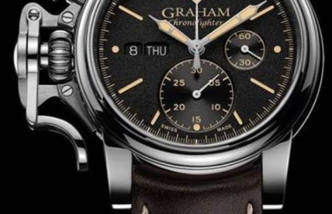 Graham ������������ ��������� ������� � ���� Chronofighter Vintage