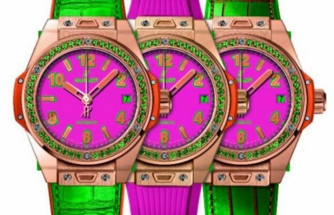 Hublot ��������� ����� ���������� Big Bang Pop Art �One-Click�