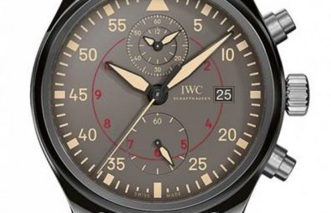 IWC ������������ ���� Pilot�s Watch Chronograph Top Gun Miramar
