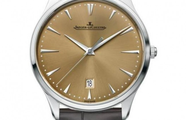 Jaeger-LeCoultre ������������ ���� Master Grande Ultra Thin Date Champagne Dial