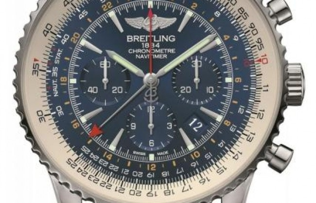 ����� ���� Navitimer GMT Aurora Blue Limited Edition ������������ Breitling