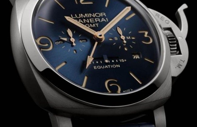 Panerai представляет часы Luminor 1950 Equation of Time 8 Days GMT Titanio