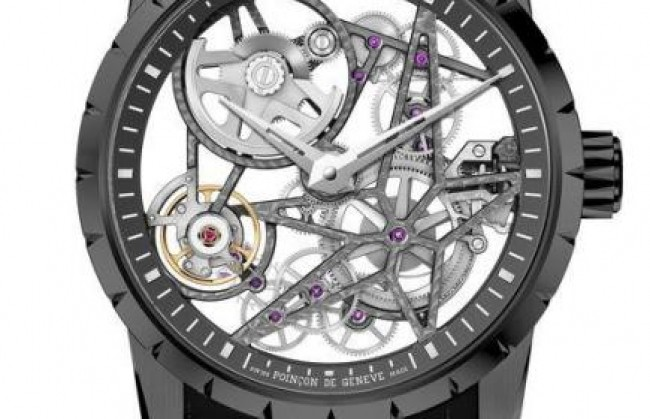 Roger Dubuis ������������ ����������� ���� Excalibur Skeleton Automatic